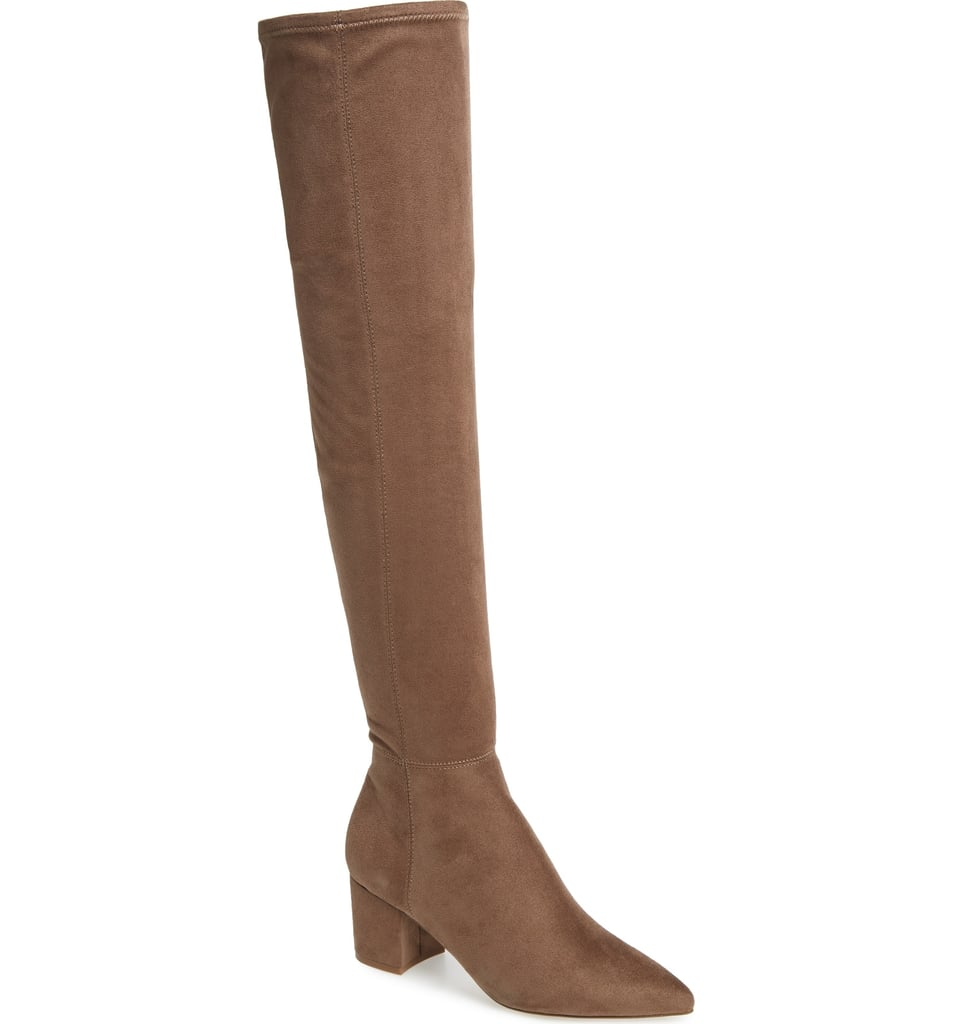 015851a68dc Steve Madden Brinkley Over the Knee Stretch Boot