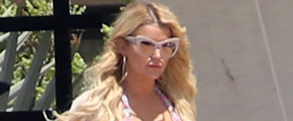 Jessica Simpson Puts Her Dangerous Curves on Display During a Girls' Trip to Mexico
