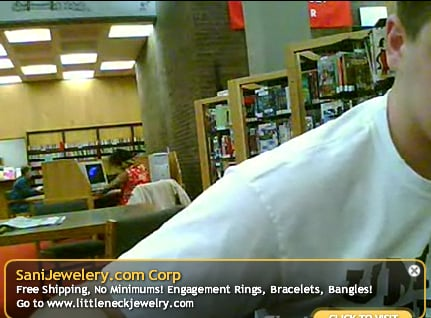 Dancing at the Library