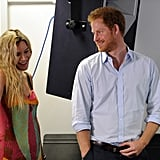Prince Harry spent a June day with British singer Joss Stone at a London rehearsal for the Basotho Youth Choir.