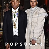 Pictured: Pharrell Williams and Helen Lasichanh