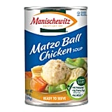 """Manischewitz Matzo Ball Chicken Soup (in a can) is honestly better comfort food for me than mac and cheese!"" — Alaina Demopoulos, editorial assistant, Beauty"