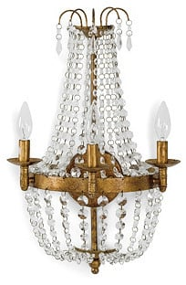 Crystal Sconce ($449)