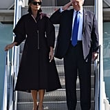 Melania Trump Arrived in Seoul, South Korea, For the Asia Tour
