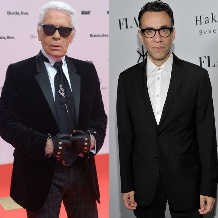 Karl Lagerfeld Played by Fred Armisen