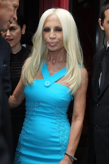Donatella Versace on Roberto Cavalli — Interview