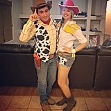 Jessie and Woody From Toy Story 2