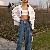Fall 2019 Denim Trend: Cargo Jeans