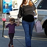 Jennifer Garner and Seraphina Affleck had some one-on-one time before Jennifer's new baby is born.