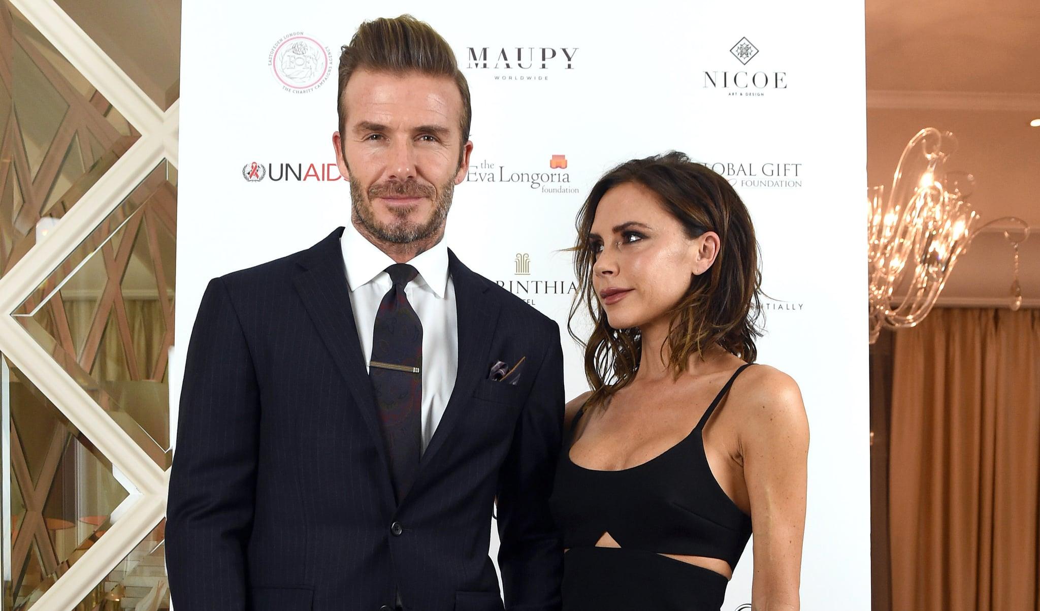 Victoria And David Beckham 2017