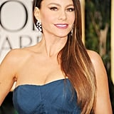 Sofia Vergara at the Golden Globes.