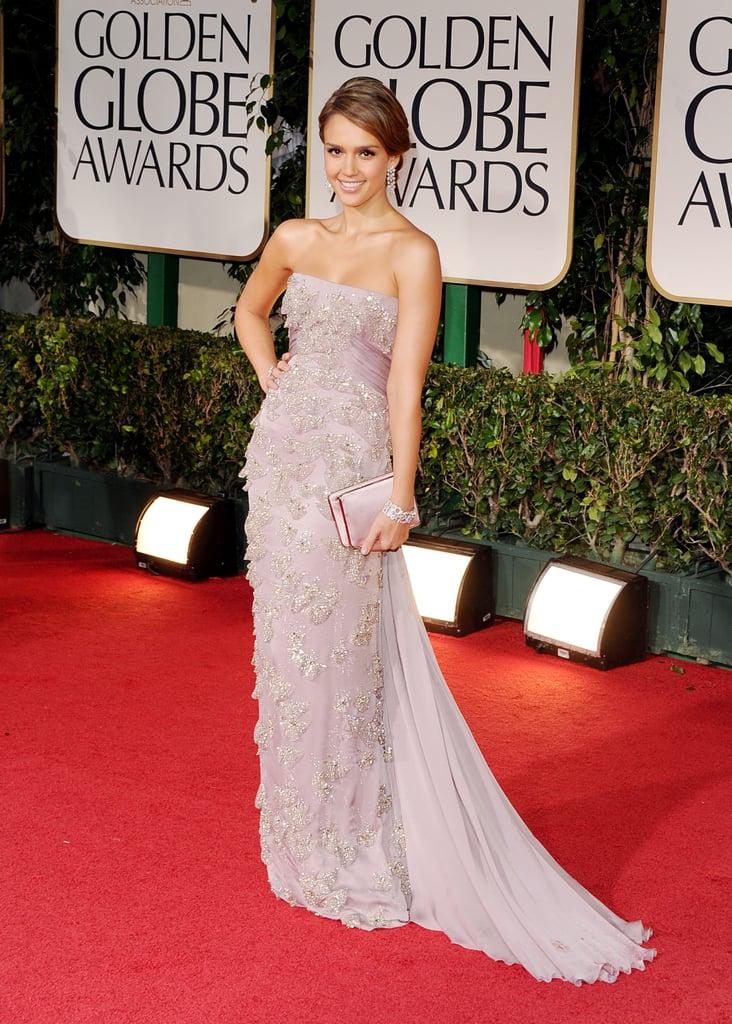 Jessica Alba in Gucci.