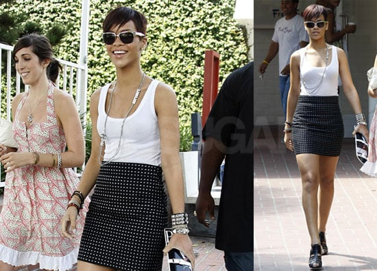 Photos of Rihanna Shopping at Fred Segal in LA