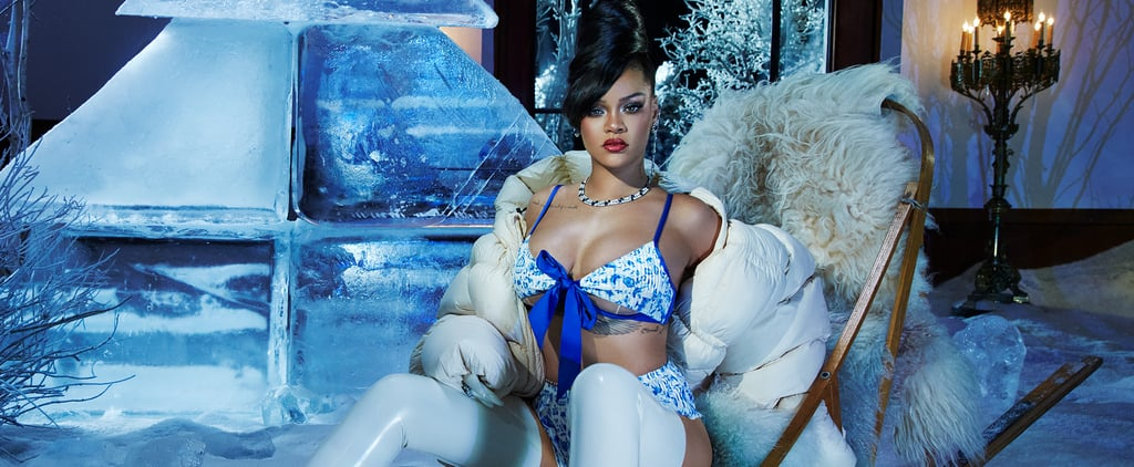 Rihanna Wears Lingerie in Savage x Fenty's December Campaign