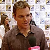 Matt Damon Opens Up About Mysterious Elysium and the New Bourne