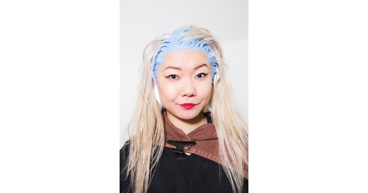 Session 2: During | How to Dye Asian Hair Blond