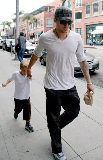 Ryan Phillippe takes Deacon to the doctor's office
