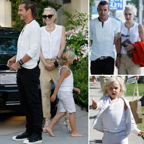 Gwen and Gavin Celebrate Father's Day With the Boys and A Date Night