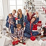Family Matching Plaid Collection Pajamas