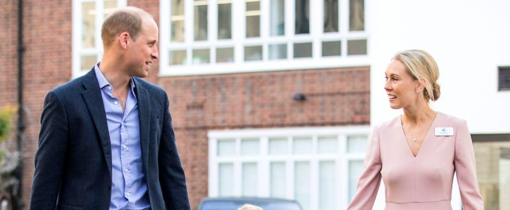 Prince George's Teacher Wearing LK Bennett Dress
