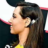 Aubrey Plaza's Knife Hair Clip