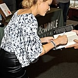 LC's First Book Signing