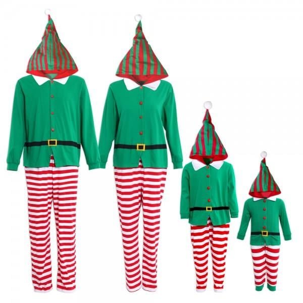 Elf Funny Christmas Matching Pajamas  01e5b3c15