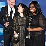 Pictured: Richard Jenkins, Sally Hawkins, and Octavia Spencer