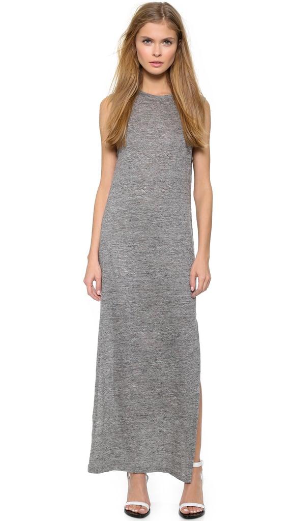 T by Alexander Wang Heather Linen Muscle Dress ($210)