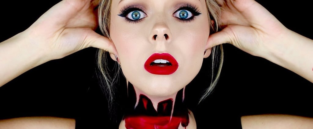 This Creepy Halloween Makeup Trend Will Make You Feel a Little Lightheaded