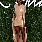 Dina Asher-Smith at the British Fashion Awards 2019 in London