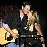 Miranda Lambert and Blake Shelton Kissing | Pictures