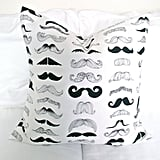 When you find a pillow with a mustache graphic print ($25), you don't have to look any further for a true hipster gift.