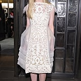 Elle Fanning posed for a few more photos before leaving the We Bought a Zoo premiere in NYC.