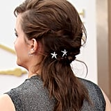 Twisted Half-Updo With Star Accessories