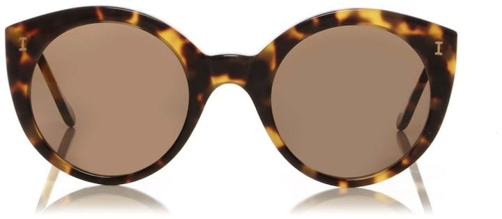 Illesteva Palm Beach Tortoise Sunglasses ($240)