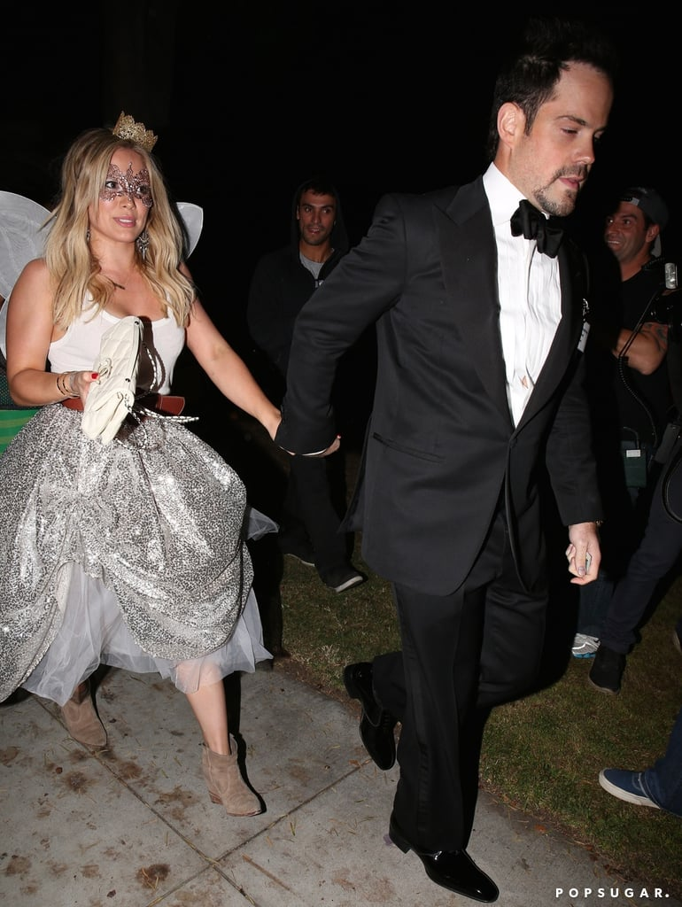 Hilary Duff and Mike Comrie Holding Hands on Halloween | POPSUGAR ...