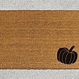 Pumpkin Doormat ($39)