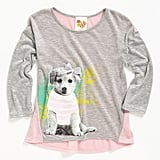 Kiddo Puppy With Glasses Shirt