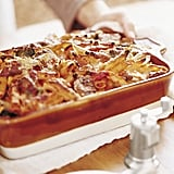 Vegetarians can get their casserole fix too with this veggie-filled dish. Get the recipe: baked penne with roasted vegetables