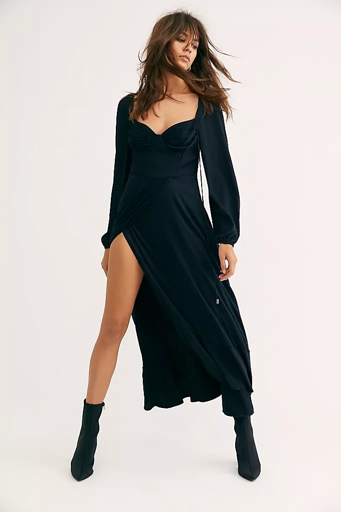 Free People This Is Love Midi Dress