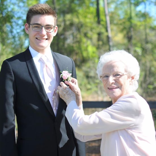 High Schooler Takes Grandma to Prom