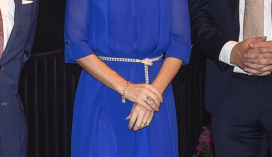 Princess Mary Wearing Blue YDE Jumpsuit