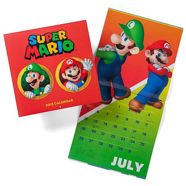 Super Mario 2015 Calendar ($10)