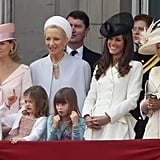 Kate Middleton Pictures at the Trooping of the Colour With Prince William 2011-06-11 09:31:36