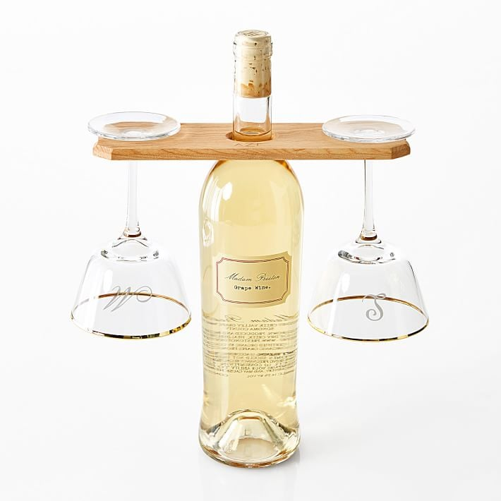 Maple Wine Caddy