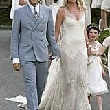 Kate Moss's John Galliano Wedding Dress, 2011