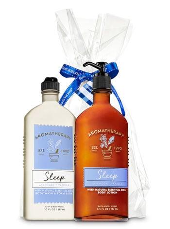 Bath And Body Works Lavender Vanilla Aromatherapy Gift Kit Bath