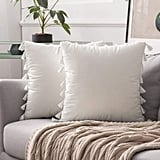 Miulee Pack of 2 Velvet Soft Solid Decorative Throw Pillow Covers