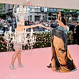 Katy Perry and Diane von Furstenberg
